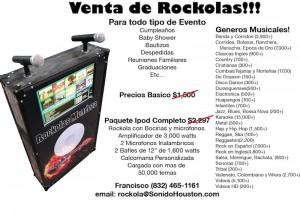 Venta de Rockola en Houston